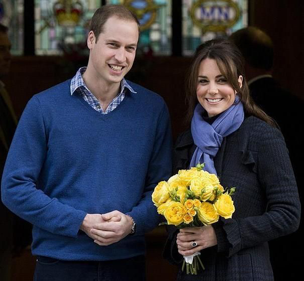 Принц Уильям с принцессой Кейт