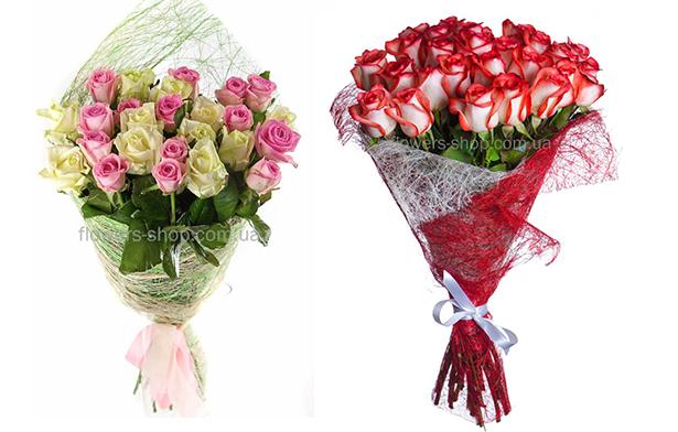 Упаковка цветов как модно