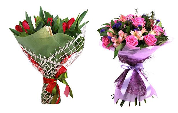 Упаковка роз в слюду мастер класс - Свое счастье