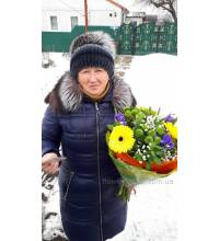 Delivery of prefabricated bouquet in Sumy