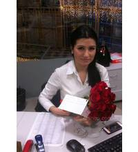 Roses Grand Prix with delivery in Rivne