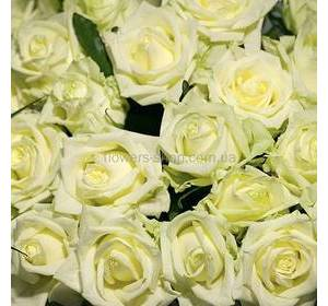 White roses apiece