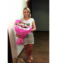 Beautiful bouquet with delivery to Kharkov