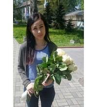 Букет-комплимент для девушки из Киева