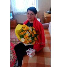 Квіти і цукерки доставлені в Чернігів
