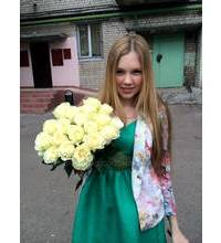 Operational delivery of roses in Khmelnitsky