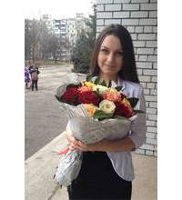 Bouquet of roses with delivery to Odessa