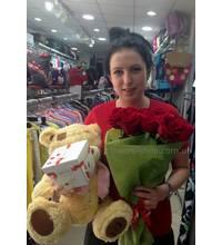 Flowers and toys in Kamenetz-Podolsk