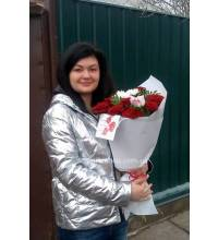 Delivery of prefabricated bouquet in Kremenchug