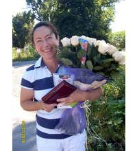 Delivery of 51 roses in Vinnitsa