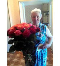 Assorted roses delivered to Kharkiv