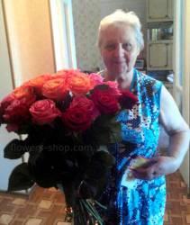 Ассорти из роз доставлено в Харьков