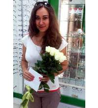 Avalanche Rose delivered by courier in Lviv