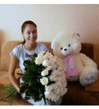 Delivery Send flowers and soft toys in Izum