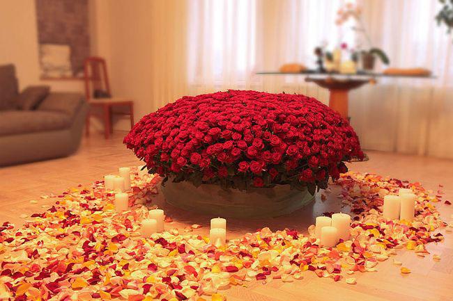 букет роз на День Cвятого Валентина3