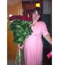 Букет червоних троянд у Донецьку