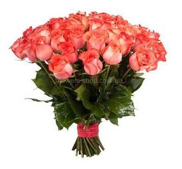 Розы импортного производства поштучно