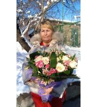 Groupage bouquet made in Nikopol