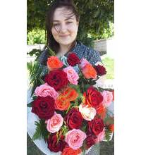 Prompt delivery of roses in the Belaya Cerkov