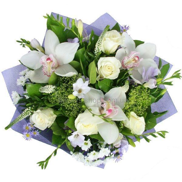 Купить букет из орхидей с доставкой