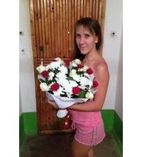 Поздравительный букет с доставкой в Запорожье