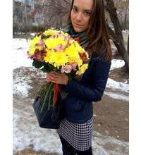 Bright bouquet for girls in Melitopol