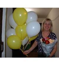 Цветы и шарики доставлены в Херсон