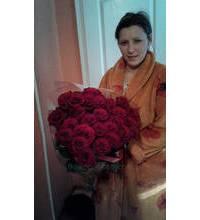 Красные розы Гран-При доставлены в Хмельницкий