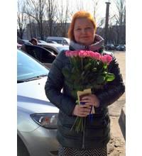 Доставка роз осуществлена в Херсоне