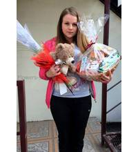 Gifts delivered on March 8 in Vinnitsa