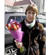 Різнокольорові тюльпани доставлені у Львів 8 від березня