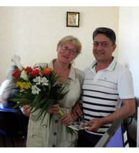 Mixed bouquet delivered in Ivano-Frankivsk