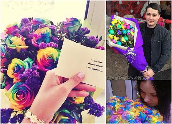 Что написать девушке которая нравится в открытке с цветами, днем