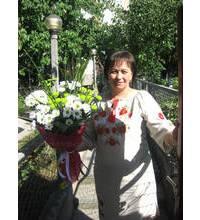 Доставка букета хризантем выполнена в Херсоне