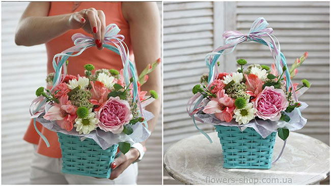 корзины цветов2