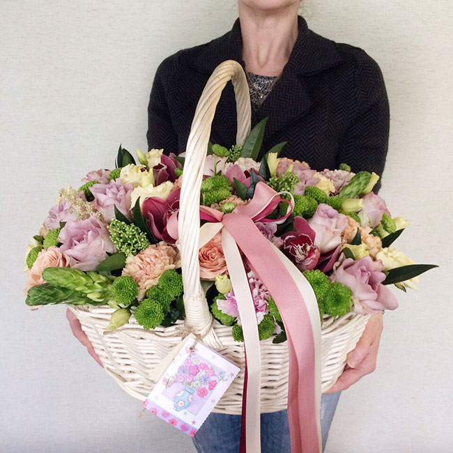 корзины цветов3