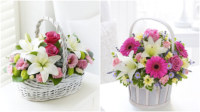 корзины цветов4
