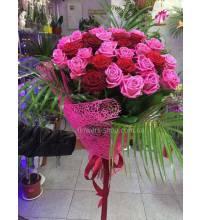 Доставка букета роз в Харьков