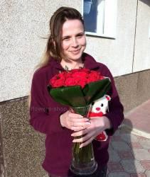 Доставка цветов и игрушки в Хмельницкий