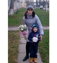 Bouquet with chocolates delivered to Rivne