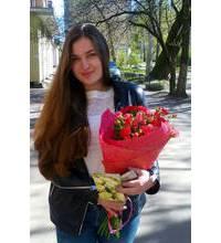Доставка цветов выполнена в Донецке