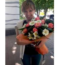 Delivery Mixed bouquet in Vasilkov