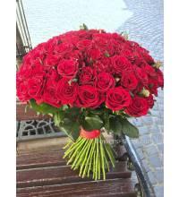 Букет из 101 розы Фридом доставлен в Тернополе