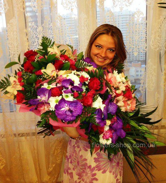 Букет чаем, доставка цветов киев директор антонова