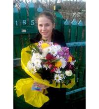 Flower delivery is made in Uzhgorod
