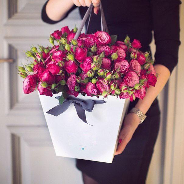 цветы в коробке6