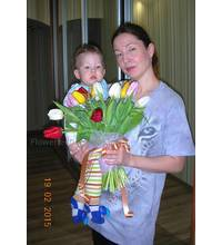 Flower delivery is made in Dnepropetrovsk