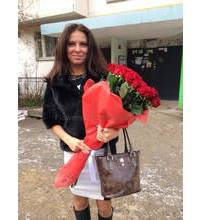Roses delivered in Berdyansk