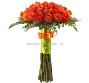Помаранчеві троянди