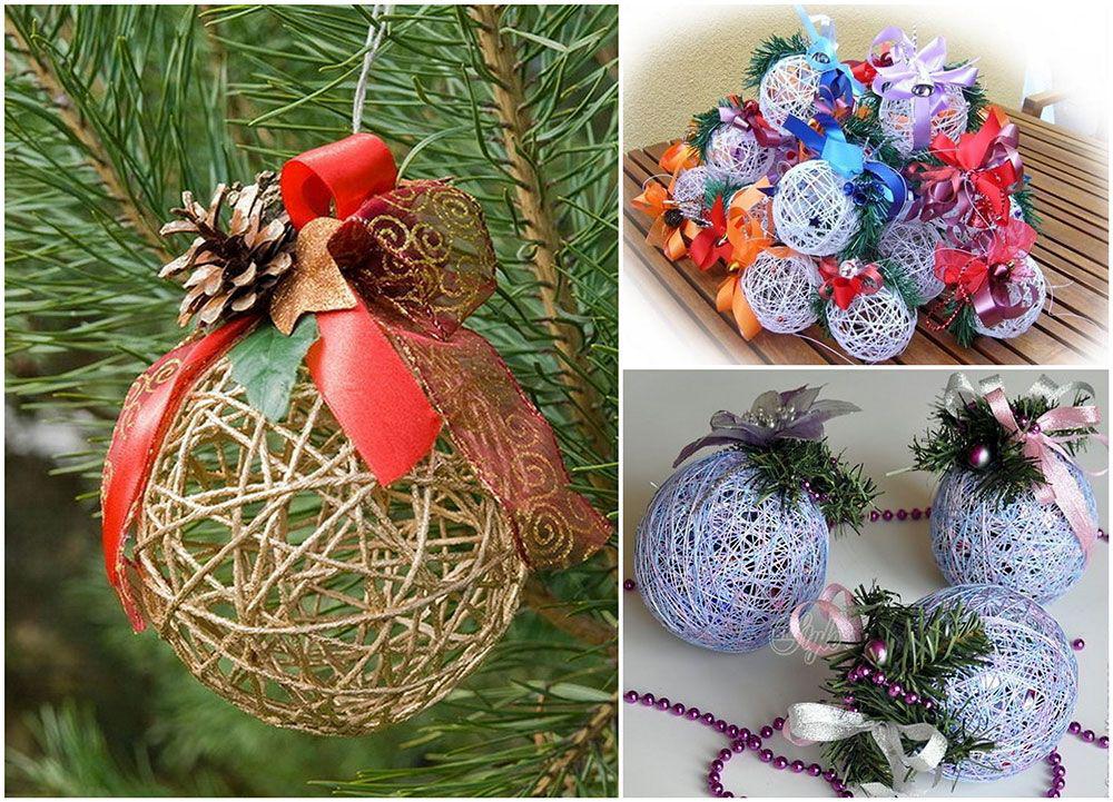 Сшить новогодние игрушки на елку своими руками
